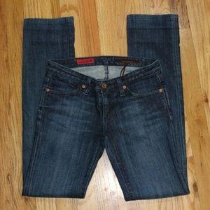 Anthropologie AG Casablanca Straight Jeans Sz 25